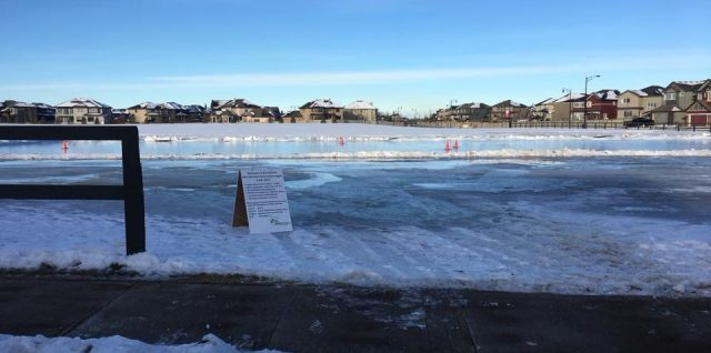 GWCL Snowbank Rink Now Open!