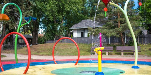 City Spray Parks Opening May 25th 9am – 9pm 7 days a week