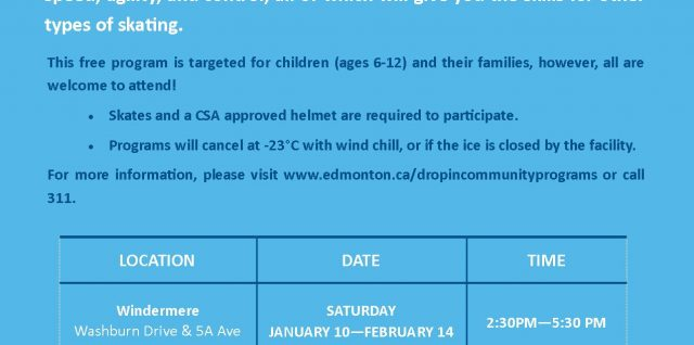 Learn to Skate at the GWCL Snowbank Rink Jan 10 – Feb 15 Saturdays 2:30 -5:30